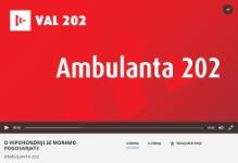 Hipohondrija v oddaji Ambulanta 202 na radiu Val 202
