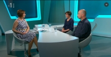 O skupnem življenju v oddaji Turbulenca na TV SLO 1